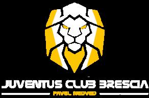 Logo Juventus Club Brescia - Pavel Nedved con il muso del leone, simbolo del Club