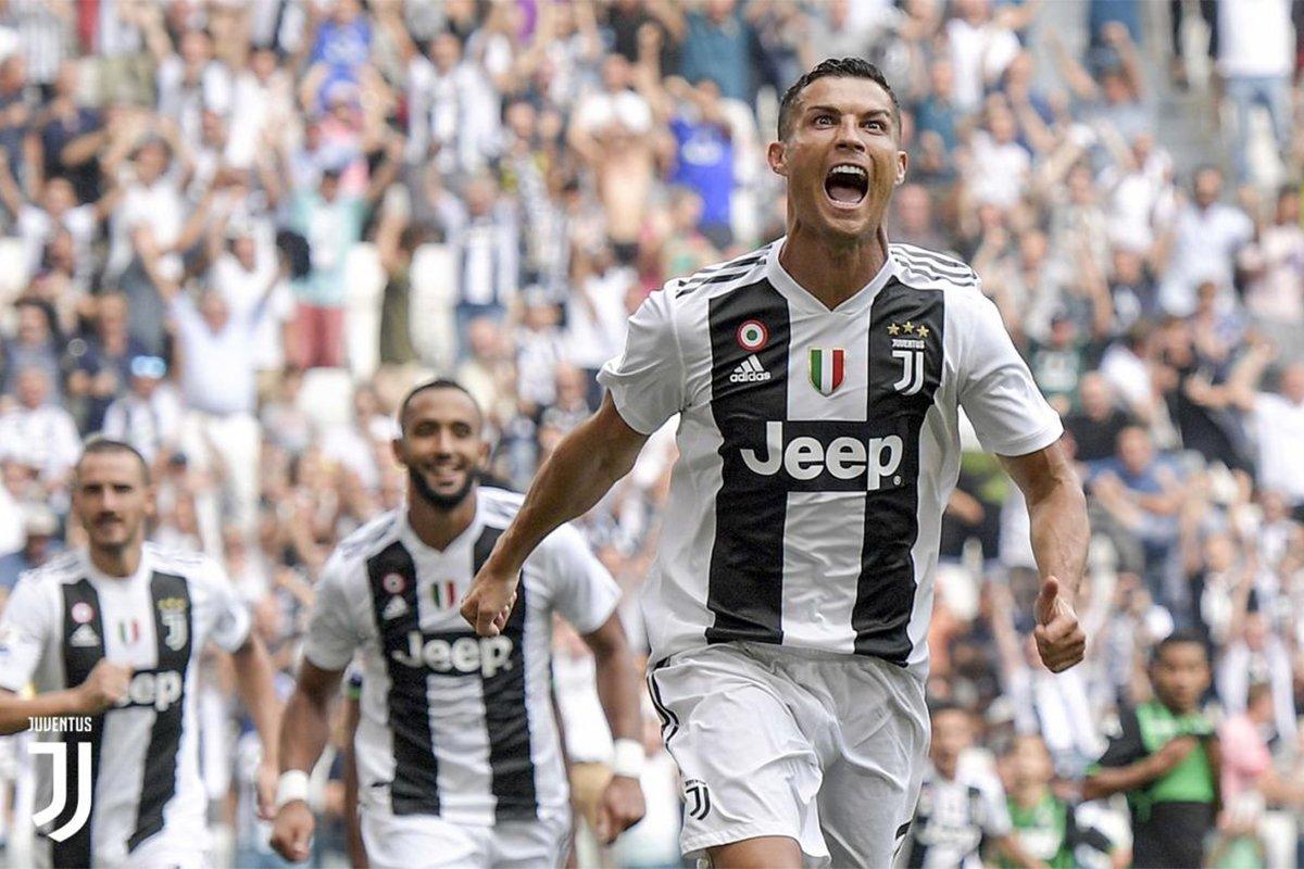 L'esultanza di CR7 al primo goal in bianconero, il grido tutto per i suoi nuovi tifosi